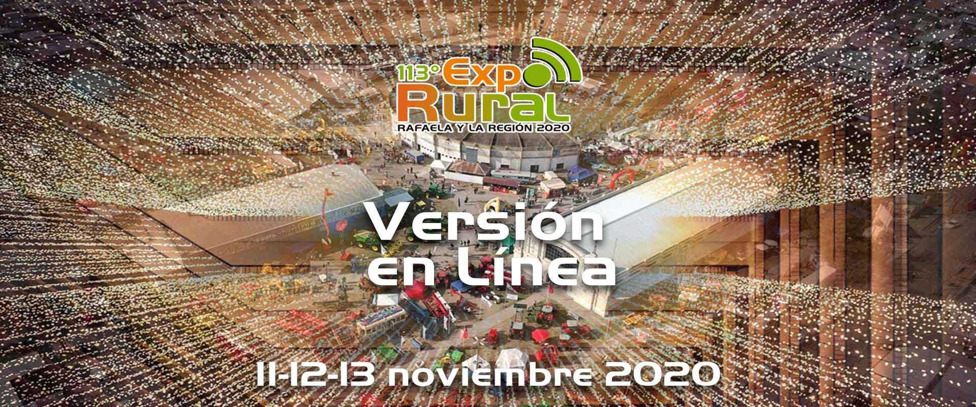 """En este momento estás viendo Confirmada la EXPORURAL 2020 Rafaela y la Región-Versión """"en línea"""""""