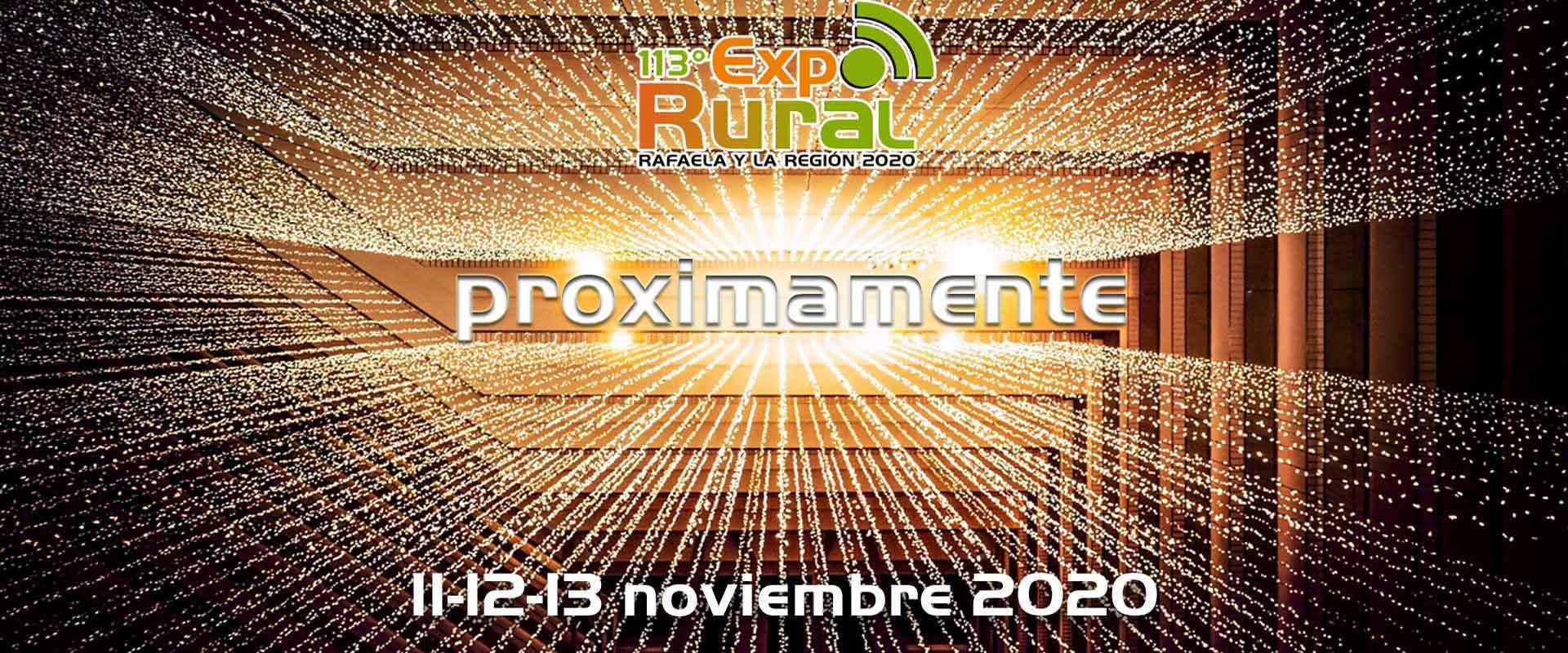 En este momento estás viendo Conferencia de Prensa: «Presentación ExpoRural 2020 Rafaela y la Región-versión en línea-