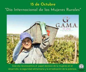 Lee más sobre el artículo En el Día de las Mujeres Rurales, nuestro reconocimiento a GAMA
