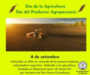 Día de la Agricultura y el Productor Agropecuario