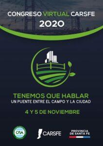 """Mañana!!!Tenemos que hablar : CARSFE presenta su Congreso 2020 """"Un Puente entre el Campo y la Ciudad"""""""