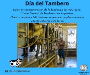 14 de Noviembre: Día del Tambero