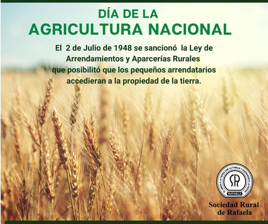 En este momento estás viendo Día de la Agricultura Nacional