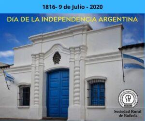 Lee más sobre el artículo 9 de JULIO- Día de la Independencia-