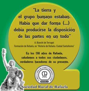 Lee más sobre el artículo 24 de OCTUBRE: 138° Aniversario de Rafaela