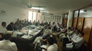 Lee más sobre el artículo Encuentros con Presidente de CRA y Ministro de la Producción