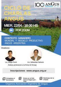 Ciclo de charlas virtuales Angus