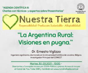Lee más sobre el artículo III encuentro de la Agenda Científica: «La Argentina Rural: Visiones en pugna»