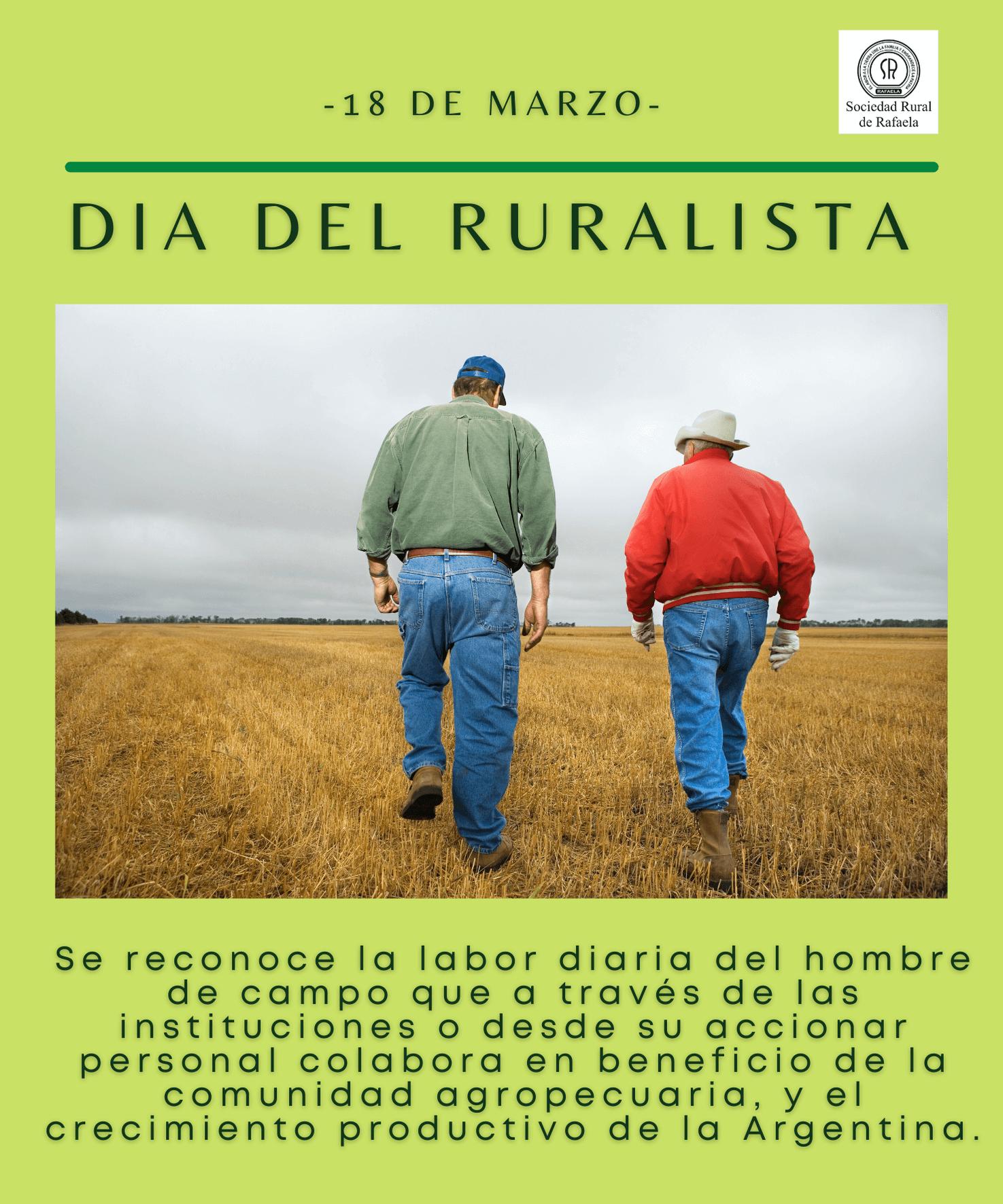 En este momento estás viendo 18 de Marzo: Día del Ruralista