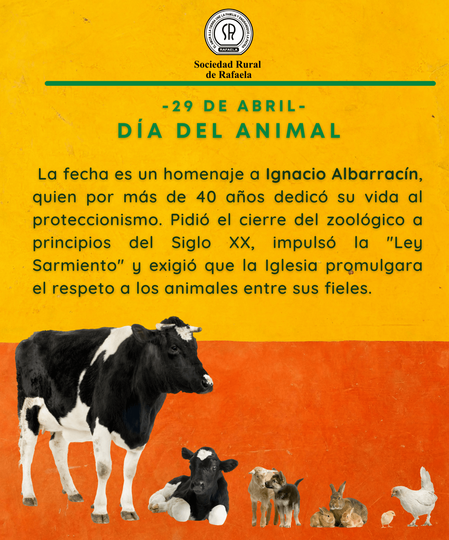 En este momento estás viendo 29 de Abril: Día del Animal en Argentina
