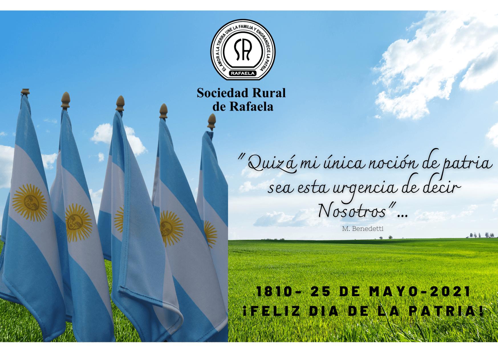 25 de Mayo: Día de la PATRIA