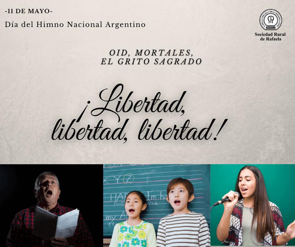 11 de Mayo: Día del Himno Nacional Argentino