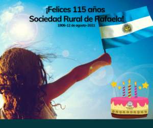 Lee más sobre el artículo ¡Felices 115 años Sociedad Rural de Rafaela!