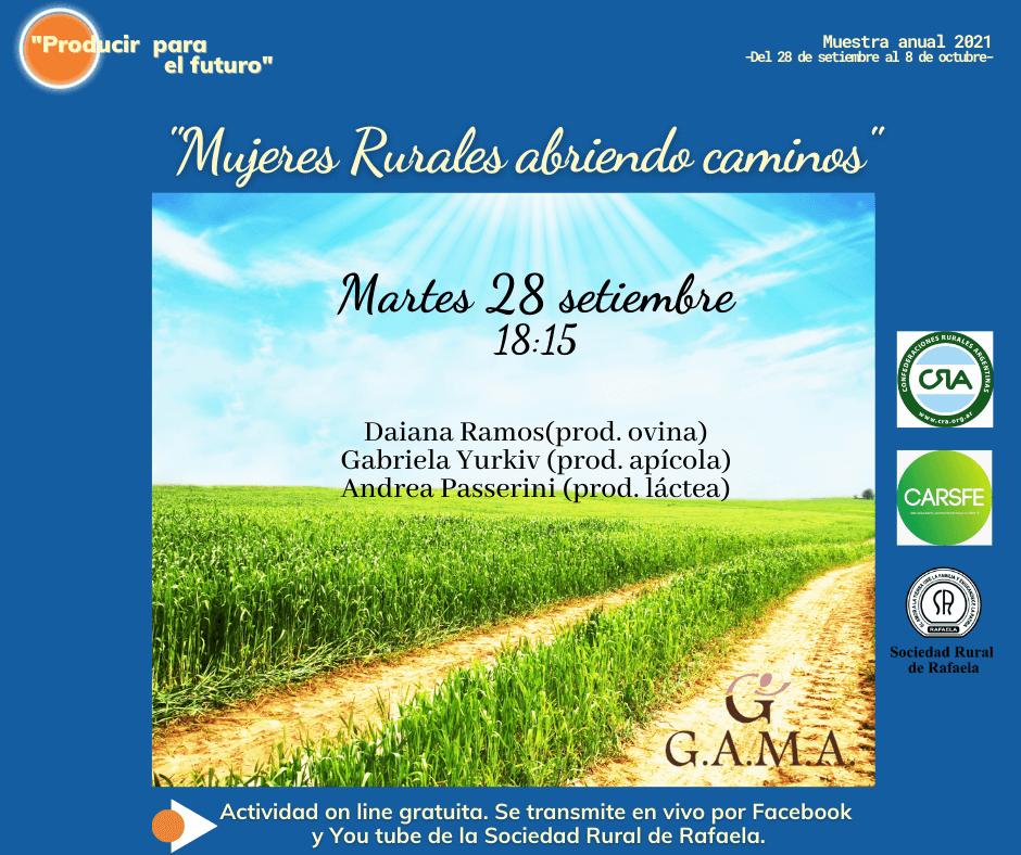 """En este momento estás viendo """"Mujeres Rurales abriendo caminos"""", la charla que abre la Muestra 2021 de la Rural"""